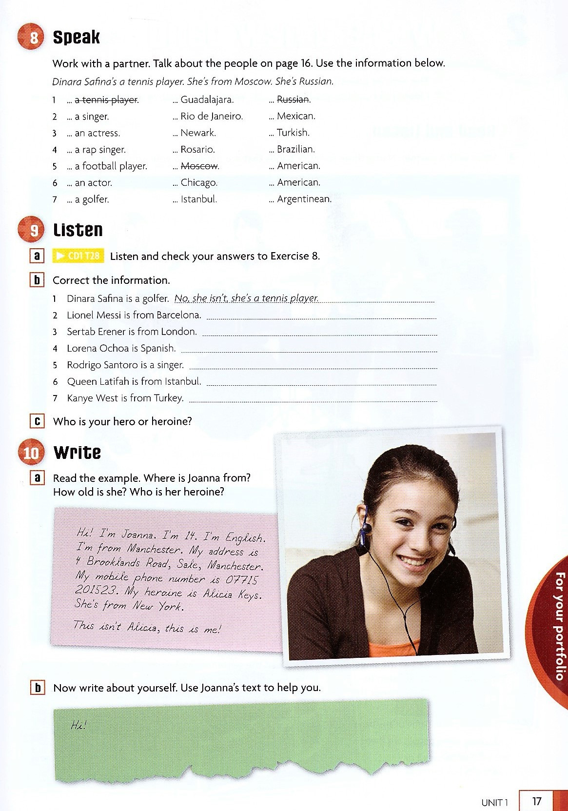 Изображение English in Mind (Second Edition) Starter Student's Book + DVD-ROM страница 8